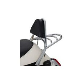 PORTE-BAGAGE + SISSY BAR CHROME MIO